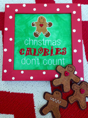 Amy Bruecken Designs, Christmas Calories, Needles and Things