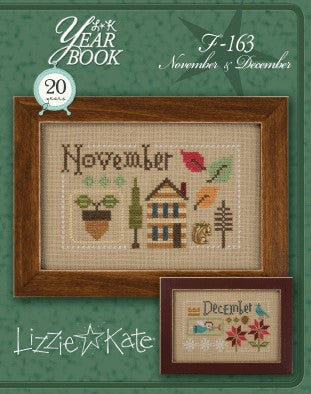 Lizzie Kate, Yearbook Double Flip - November/December, Needles and Things