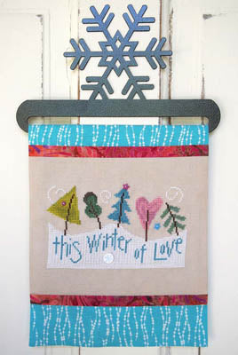 Samsarah Design Studio, This Winter Of Love (includesbuttons), Needles and Things