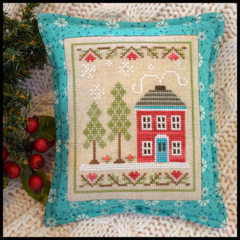 Country Cottage Needleworks, Snow Place Like Home - 2, Needles and Things