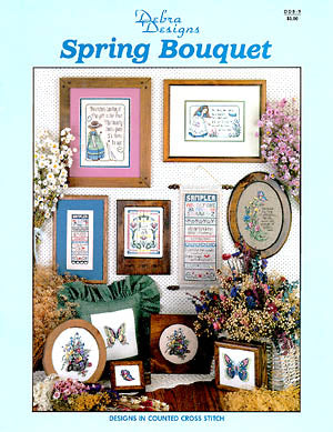 Debra Designs, Spring Bouquet, Needles and Things