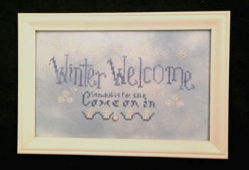 Poppy Kreations, Winter Welcome, Needles and Things