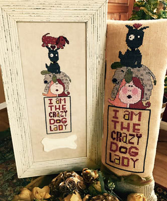Amy Bruecken Designs, Crazy Dog Lady, Needles and Things