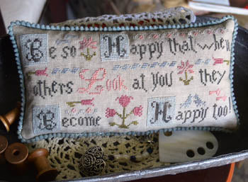 Abby Rose Designs, Be Happy, Needles and Things