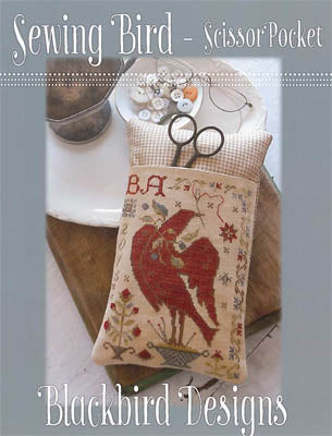 Blackbird Designs, Sewing Bird - Scissor Pocket, Needles and Things