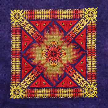 Northern Expressions Needlework, Phoenix Mandala, Needles and Things