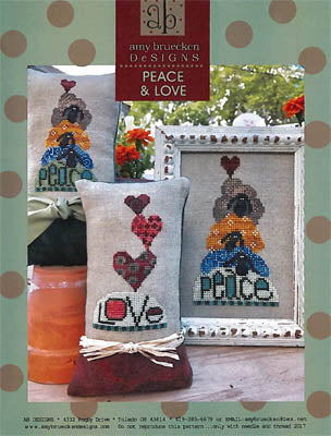 Amy Bruecken Designs, Peace & Love, Needles and Things