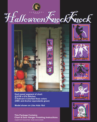 Carousel Charts, Halloween Knock Knock, Needles and Things