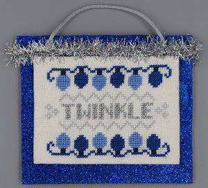 Misty Hill Studio, Twinkle (Blue & Silver Christmas), Needles and Things
