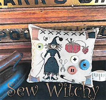 Scarlett House The, Sew Witchy, Needles and Things