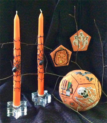 Amaryllis Artworks, Halloween Ball, Needles and Things