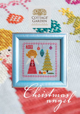Cottage Garden Samplings, Christmas Angel, Needles and Things