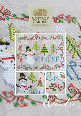 Cottage Garden Samplings, Winter, Needles and Things