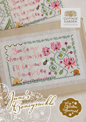 Cottage Garden Samplings, June's Honeycuskle, Needles and Things