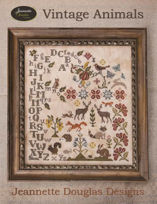 Jeannette Douglas Designs, Vintage Animals, Needles and Things