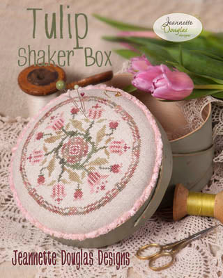 Jeannette Douglas Designs, Tulip Shaker Box, Needles and Things