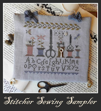 Nikyscreations, Stitcher Sewing Sampler, Needles and Things