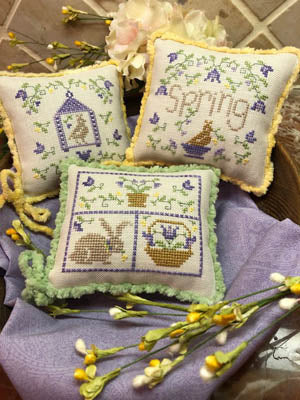 ScissorTail Designs, Spring Whimsies, Needles and Things