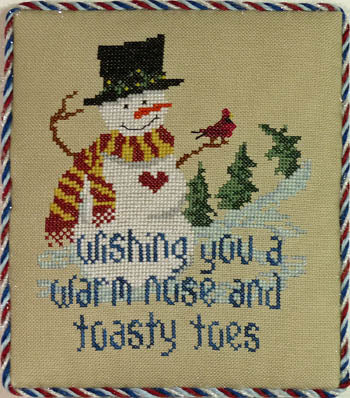 Stitchworks The, Snowman Wishes, Needles and Things
