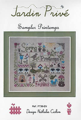 Jardin Prive', Sampler Printemps, Needles and Things