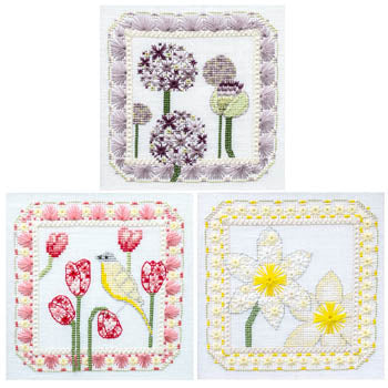Cherry Lane Designs, Spring Trio, Needles and Things