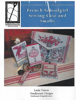 Needlemade Designs, French Schoolgirl Sewing CaseAnd Smalls, Needles and Things