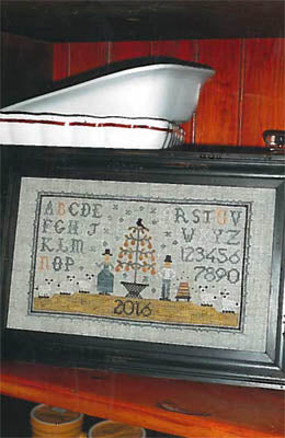 Chessie & Me, Pear Tree Sampler, Needles and Things