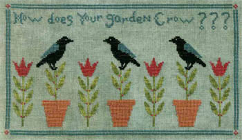 Artful Offerings, How Does Your Garden Crow, Needles and Things