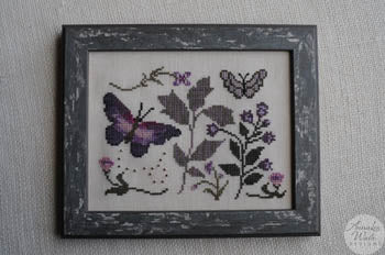 Annalee Waite Designs, Blooms & Butterflies, Needles and Things