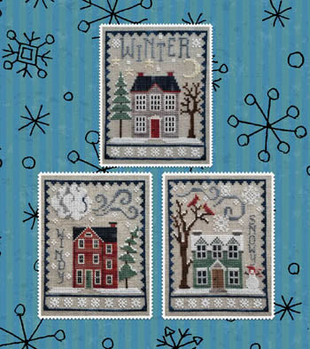 Waxing Moon Designs, Winter House Trio, Needles and Things