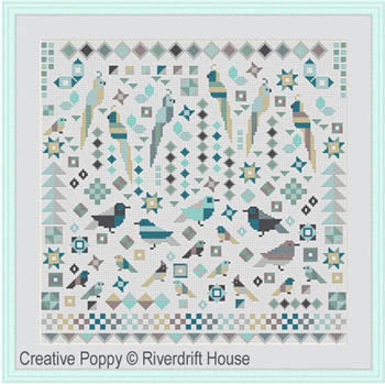 Riverdrift House, Birds Patchwork Style, Needles and Things
