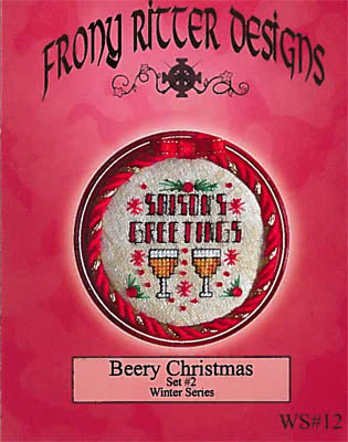 Frony Ritter Designs, Beery Christmas Set 2, Needles and Things