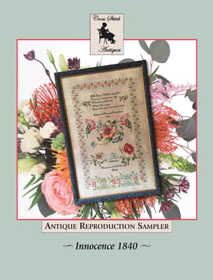 Cross Stitch Antiques, Innocence 1840, Needles and Things