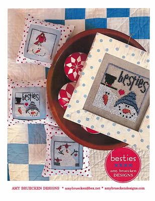 Amy Bruecken Designs, Besties, Needles and Things
