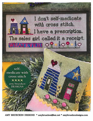 Amy Bruecken Designs, Self Medicated, Needles and Things