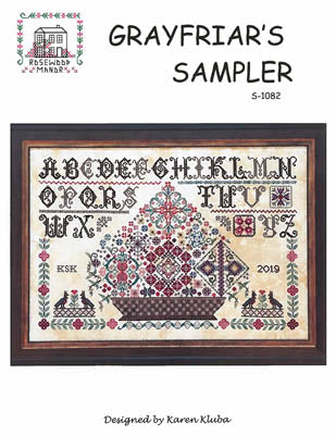 Rosewood Manor Designs, Grayfriar's Sampler, Needles and Things