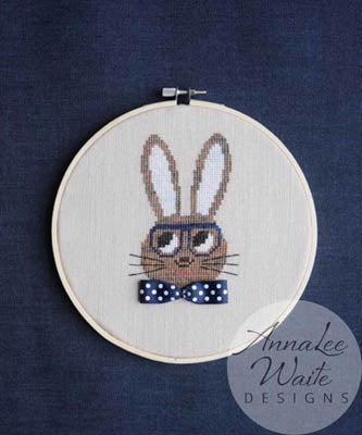 Annalee Waite Designs, Ribbon Rabbit Boy, Needles and Things