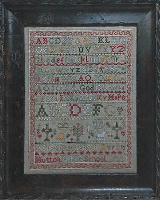 Needlemade Designs, Agnes Outterson Sampler, Needles and Things