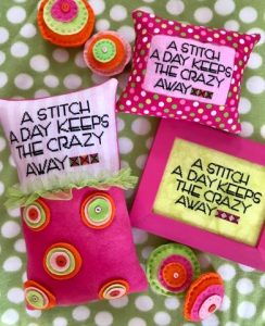 Amy Bruecken Designs, Stitch A Day, Needles and Things