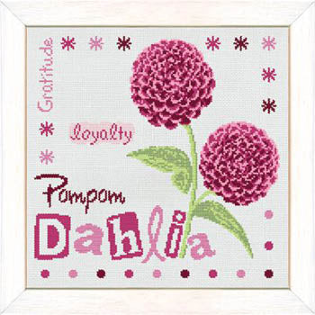Lilipoints, Pompom Dahlia, Needles and Things