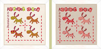 Lilipoints, Reindeer Ahead + Silk Ribbon, Needles and Things