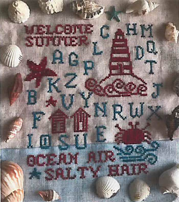 Romy's Creations, Welcome Summer Sampler, Needles and Things