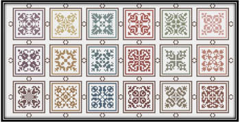 Works By ABC, Symmetrical Squares From 1603, Needles and Things