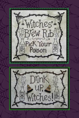 Waxing Moon Designs, Witches' Brew Pub, Needles and Things