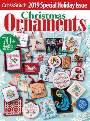 Just Cross Stitch, Christmas Ornaments 2019, Needles and Things