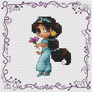 Les Petites Croix De Lucie, Baby Princess Jasmine, Needles and Things