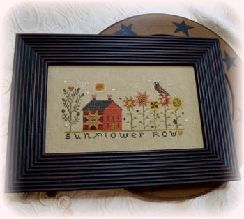 Annie Beez Folk Art, Sunflower Row, Needles and Things