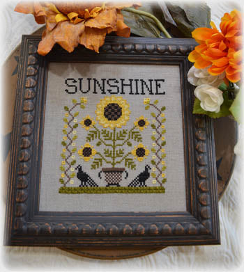 Annie Beez Folk Art, Sunshine, Needles and Things