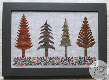 Annalee Waite Designs, Autumn Trees, Needles and Things