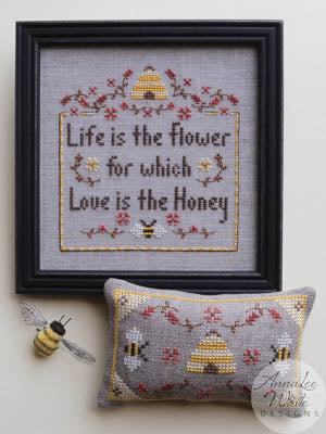 Annalee Waite Designs, Honey Flower, Needles and Things